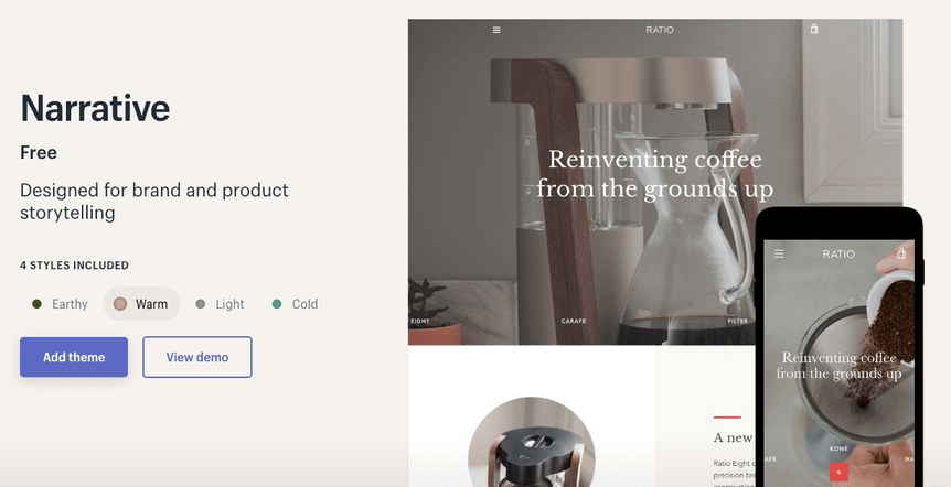 recommender free theme on shopify 1